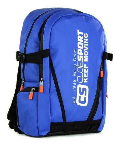 Backpack Porta Laptop 14 Pulgadas Waterprof Cloe Sport Hombr