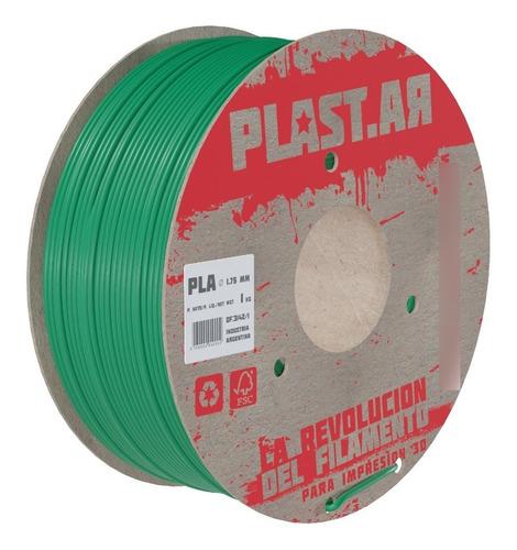 Imagen 1 de 1 de Filamento Impresora 3d Plastar Pla 1,75 Nuevo 1 Kg | Icutech