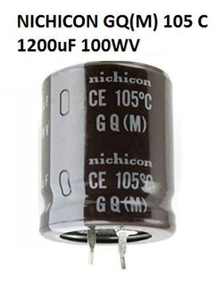Capacitor Nichicon Gq(m) 1200uf 100v 105 C