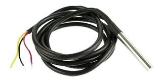 Sensor Digital Temperatura Ds18b20 Cable Sumer Arduino 1mt