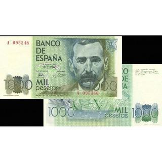 Billete De 1000 Pesos Español Año 79 . # 3
