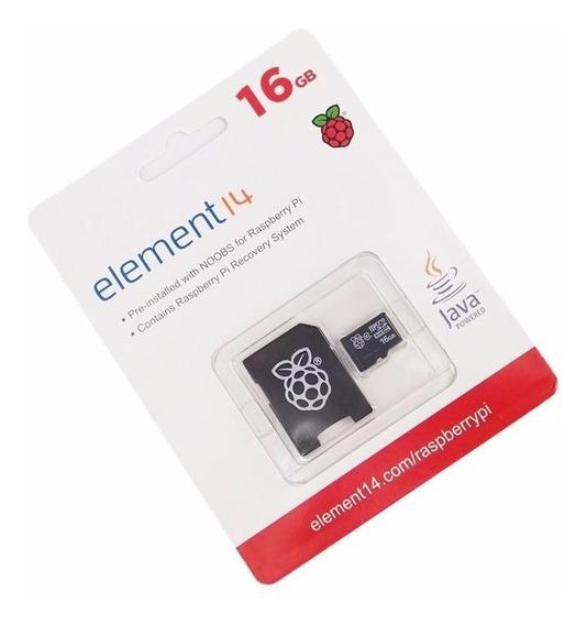 Cartão Micro Sd Para Raspberry Pi 3 Modelo B 16 Gb Cartão