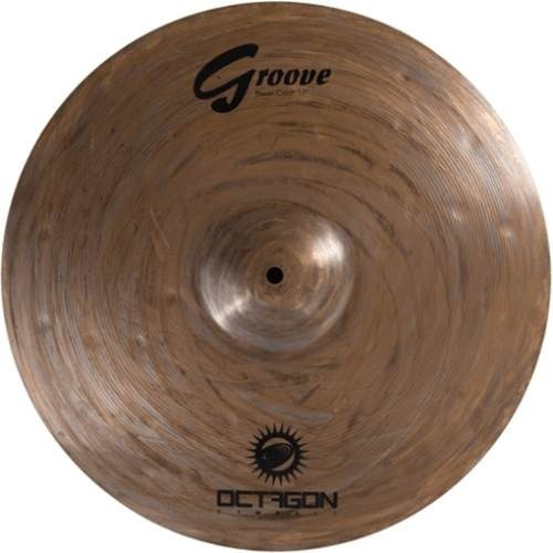 Prato Para Bateria Power Crash 17 Groove Gr17pc Octagon