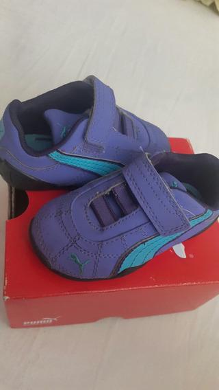 Zapatos Puma Bebé Talla 4