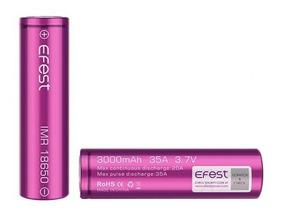 2 Bateria 18650 Efest Imr 3000 Mah 35a High Drain