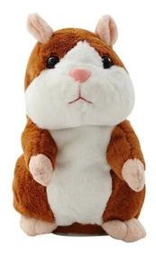 Hamster Falante De Pelúcia - Repete Tudo Que Você Fala