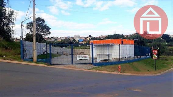 Terreno Para Alugar, 500 M² Por R$ 2.200/mês - Cidade Jardim - Bragança Paulista/sp - Te0948