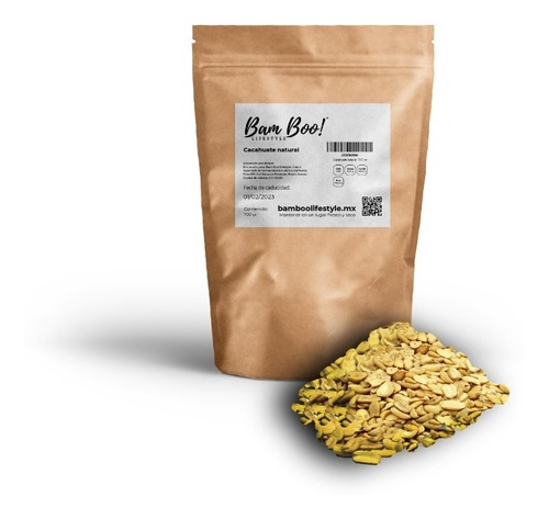 Cacahuate Natural 700 Gr Bam Boo! Lifestyle