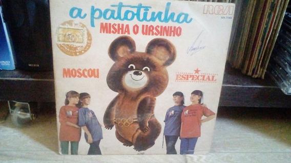 Lp Compacto A Patotinha Misha O Ursinho 1980