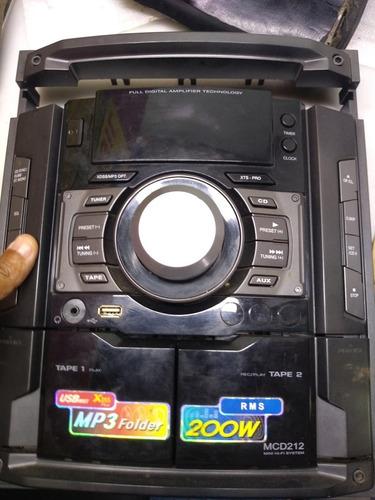 Painel Frontal Mini System LG Modelo Mcd 212