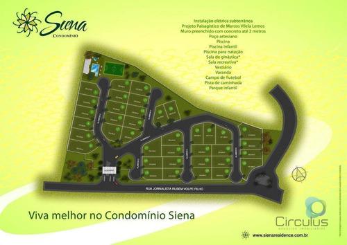 Imagem 1 de 3 de Terreno À Venda, 643 M² Por R$ 515.000,00 - Bonfim Paulista - Ribeirão Preto/sp - Te1561