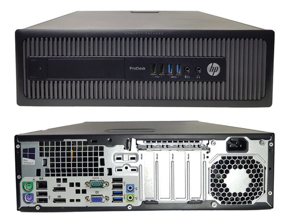 Pc Outlet Hp Prodesk 600 G1 Intel Core I3/ 4gb/ 500gb Hd