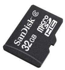 **cartao De Memoria Sandisk Micro Sdxc Sd 32g