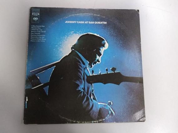 Lp Johnny Cash - Johnny Cash At San Quentin