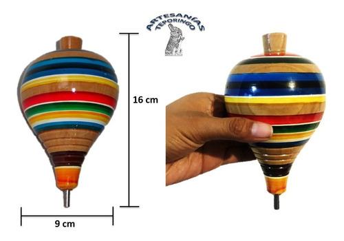 Juguete Tradicional, Trompo Gigante De Madera.