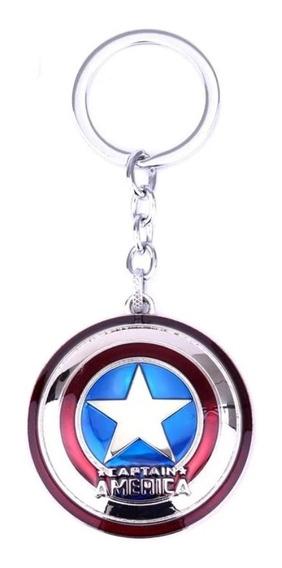 Llavero Avengers Los Vengadores Capitán América Super Heroes