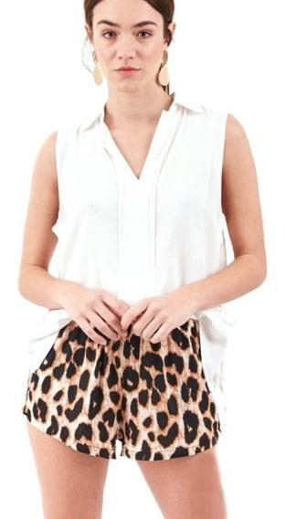 Musculosa Camisa Blusa Mujer Importada Cód: Clara Blanco 450