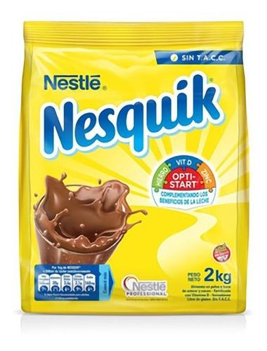 Nesquik Cacao En Polvo X 2kg Opti Star Sin Tacc Amonite Bazar