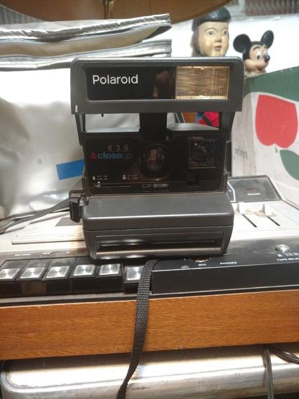 Câmera Polaroid Antiga Sem Testar