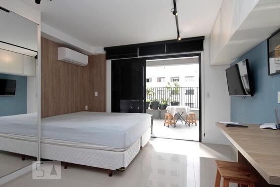 Apartamento Para Aluguel - Santa Cecília, 1 Quarto, 40 - 893096742