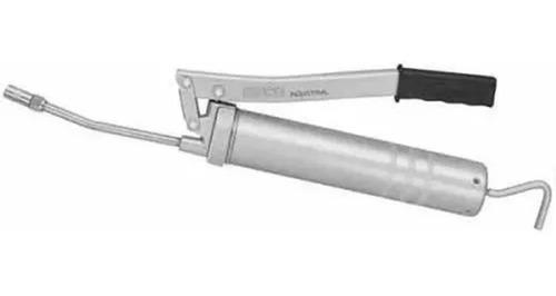 Inyector De Grasa Manual Con Pico Flexible Y Rígido 1/2 Kg