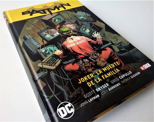 Joker: La Muerte De La Familia A 199 Soles Dc Comics