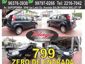 Fiat Uno Vivace 2014 Zero De Entrada Vilage Automoveis