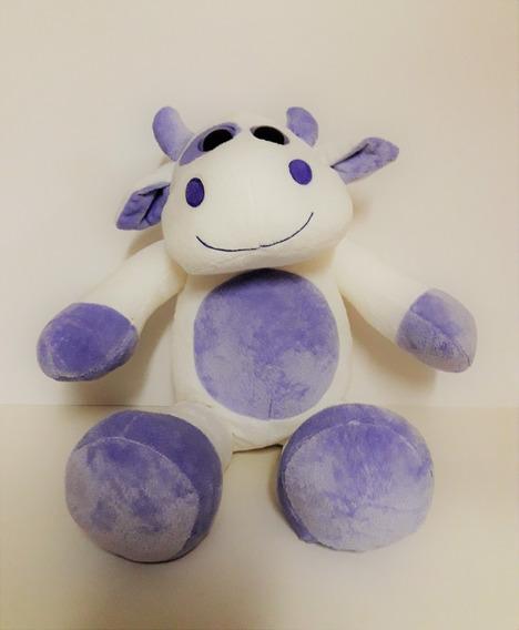 Vaquinha De Pelúcia Com Olhão - Vaca 48 Cm