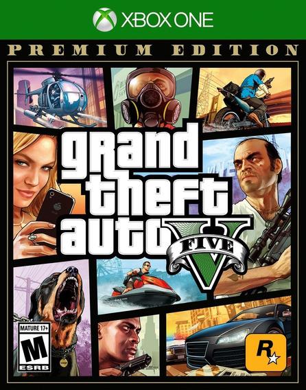 Gta V Para Xbox One Premium Edition Legendado Em Português