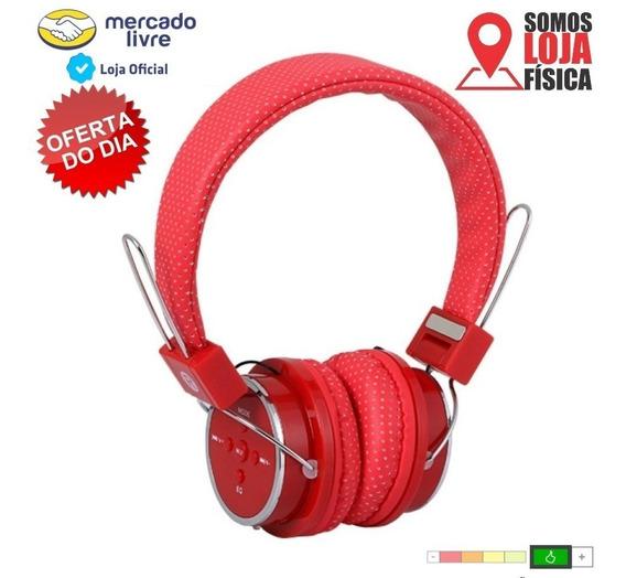 Fone Heardphone Bluetooth Sem Fio Celular Mp3 Rádio Original