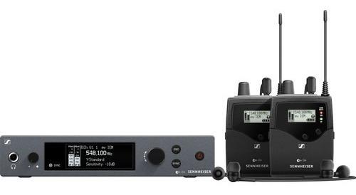 Sennheiser Ew Iem G4-twin-a1 Com 2 Fone Ie 4 - Lj. Platinum