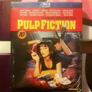 Pulp Fiction/tiempos Violentos Blu-ray C/cover Hay Stock