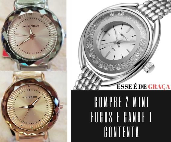 Promoção De Relógio Feminino Frete Grátis Compre 2 Ganhe 1