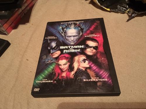 Imagen 1 de 3 de Batman And Robin Dvd 1° Edicion Usa Caja Cartón Orig. Gusx