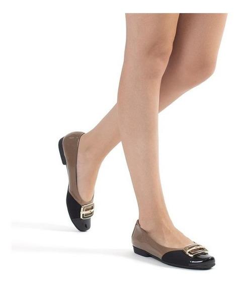Zapato Bajo Acharolados Plantilla Confortable Art. 251050