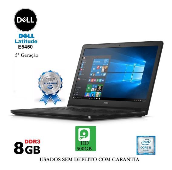 Notebook Dell I5 5ª Geração 8gb /500gb Promoção E Garantia