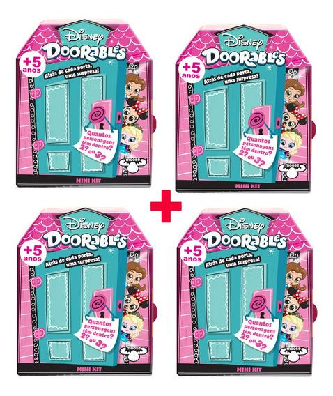 Doorables Disney 4 Mini Kit Surpresa Dtc Original