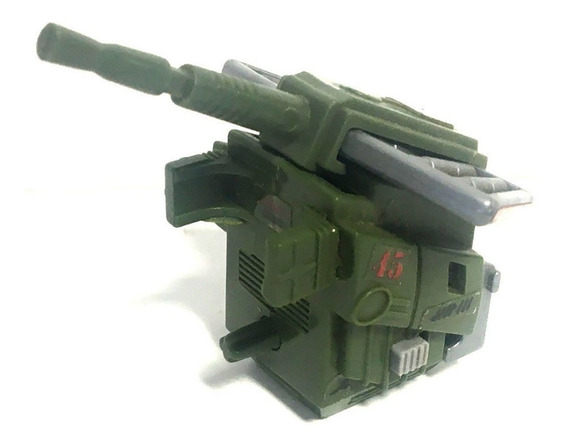 G.i. Joe Vintage 1987 Action Pack Anti-aircraft Gun Moc