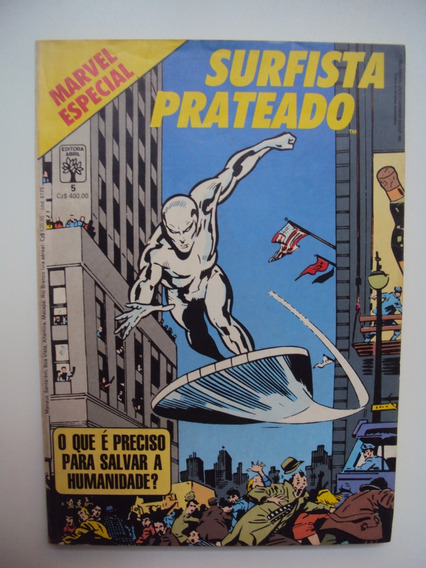 Marvel Especial # 05 - Surfista Prateado - Abril