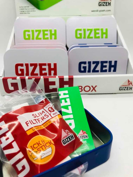 Cigarrera Gizeh C/regalo- Imperdible- Candyclub Once