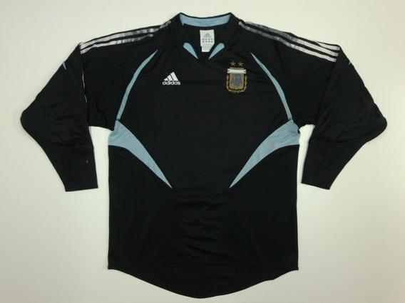 Camiseta Selección Argentina, Arquero 2004 M/l 100% Original