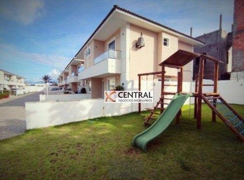 Imagem 1 de 13 de Village Com 3 Dormitórios À Venda, 129 M² Por R$ 485.000,00 - Vila Praiana - Lauro De Freitas/ba - Vl0051