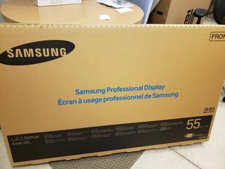 Samsung Dm55e, Tv Led Slim De 55 - ¡nuevo En Caja! ¡haga Un