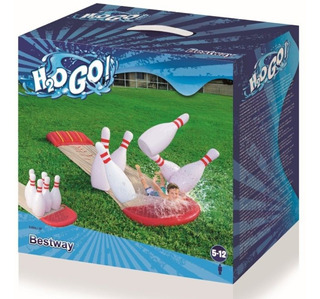 Deslizador Agua Bowling Inflable H2o Bestway 52213 Bigshop