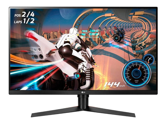 Monitor Gamer LG 32gk650f Qhd 32in Hdmi 144hz Gtía Oficial