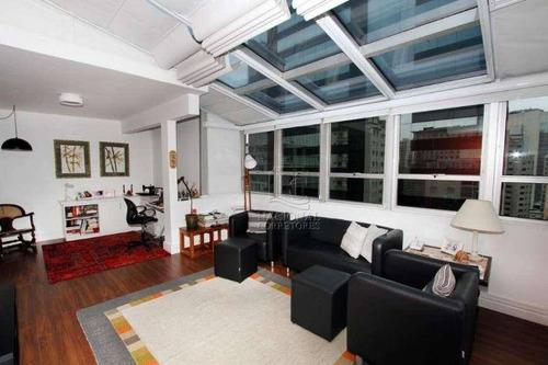Imagem 1 de 29 de Apartamento Duplex Com 3 Dormitórios À Venda, 140 M² Por R$ 1.470.000,00 - Vila Olímpia - São Paulo/sp - Ad0022