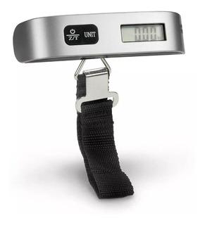 Balanza Digital Portatil De Viaje Pesar Valija 50kg