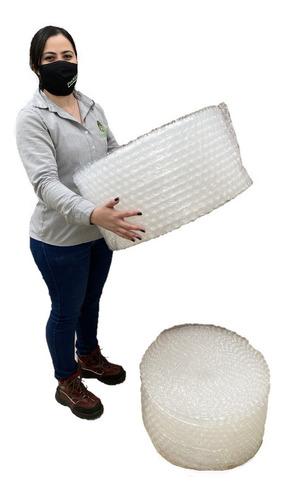 P Dos Rollos Plástico Burbuja Bomba Grande De 30cm X 25m