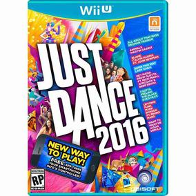 Just Dance 2016 Nintendo Wii U Mídia Física Original Lacrada