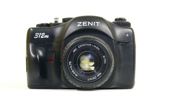 Câmera Analógica Zenit 312m 50mm F2